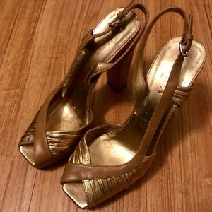 Prada size 38 1/2 high heel shoes